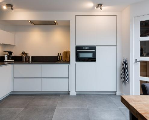 witte keuken desgin